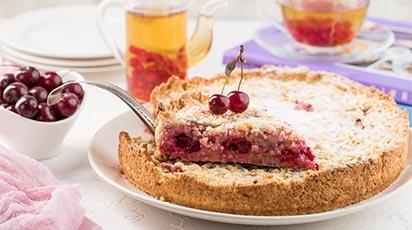 Przepis naszego Klienta na ciasto wiśniowe