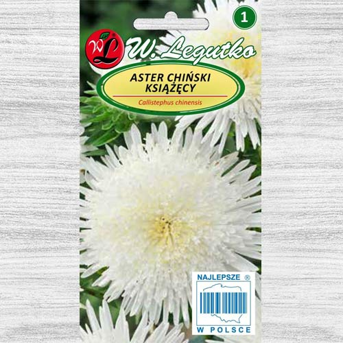 Aster chiński książęcy biały Legutko interface.image 1 interface.art 78512