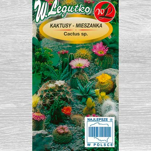 Kaktusy, mieszanka gatunków Legutko interface.image 1 interface.art 69595