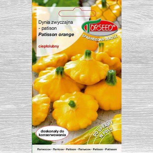 Patison (Dynia zwyczajna) Patisson Orange interface.image 1 interface.art 77611