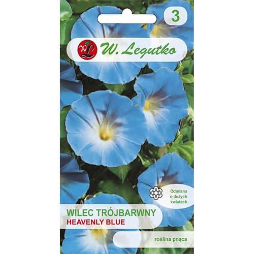 Wilec (Powój pnący) Heavenly Blue niebieski Legutko interface.image 1 interface.art 78595